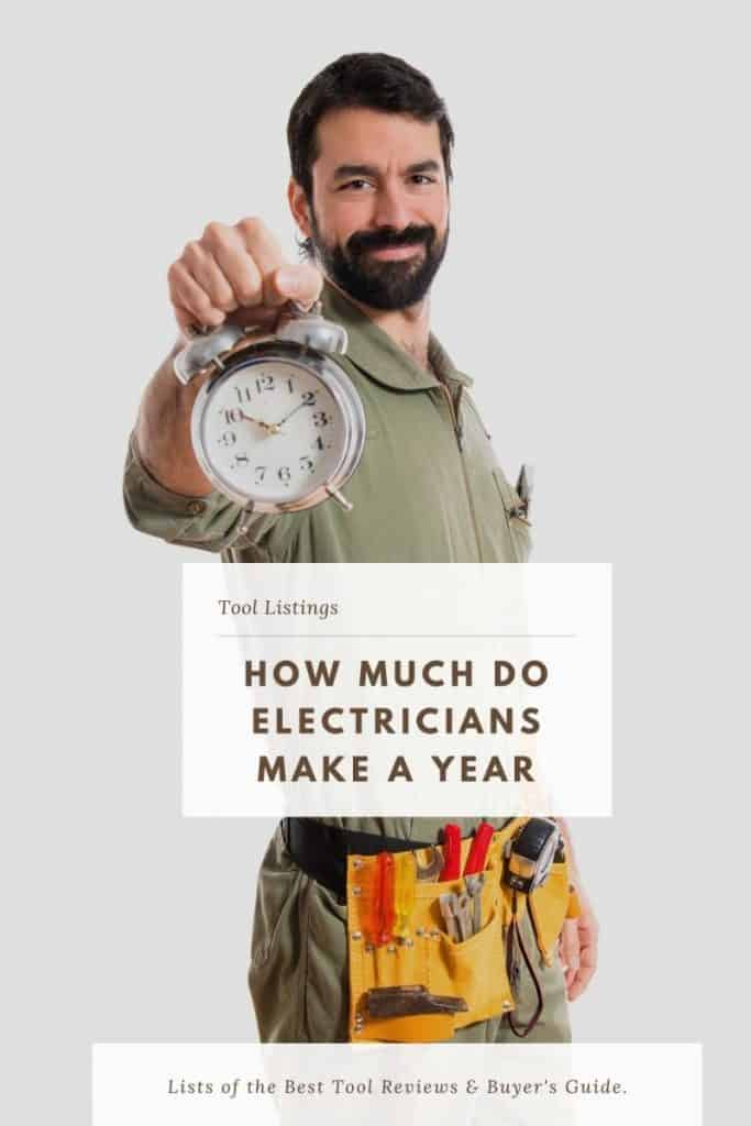 how much do electricians make a year